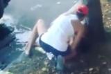Очевидцы сняли смертельный наезд на бизнесмена на жену игрока КВН с коляской