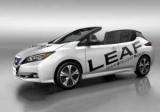 Nissan Leaf стал кабриолет