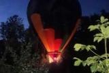 Молодоженов на воздушном шаре упал в лесу недалеко от Санкт-Петербурга